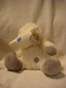 Carte Blanche Blue Nose Friend  8inch lamb cottonsocks.